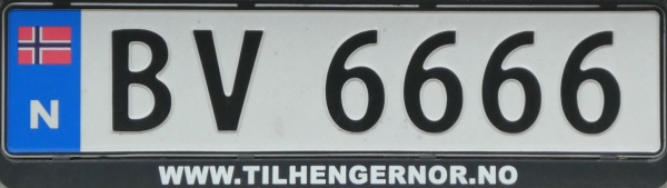 Norway four numeral series close-up BV 6666.jpg (68 kB)